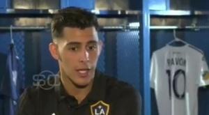 Pavon n'étais plus heureuc à Boca Juniors. Captura/ESPN
