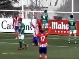 Cristian Rodríguez anotó una auténtica maravilla. Captura