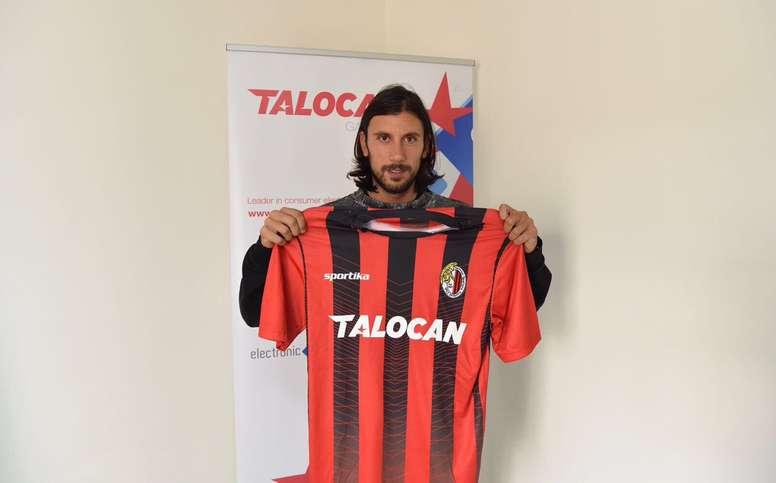 Zaccardo, campeón del mundo en 2006, fichó por el Hamrun Spartans de Malta. Twitter/CristianZaccardo