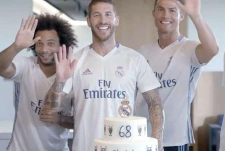 f12923731 Así felicita el Real Madrid el cumpleaños de sus socios - BeSoccer