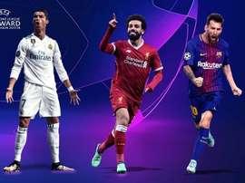 Ronaldo, Salah or Messi? BeSoccer