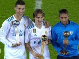 O trio de 'MVP's deste Mundial de Clubes. Twitter