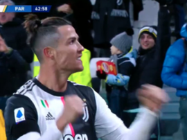 Ronaldo scored 2. Screenshot/#Vamos