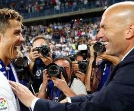 Cristiano e Zidane, os maiores desejos do Marsella. Instagram/CristianoRonaldo