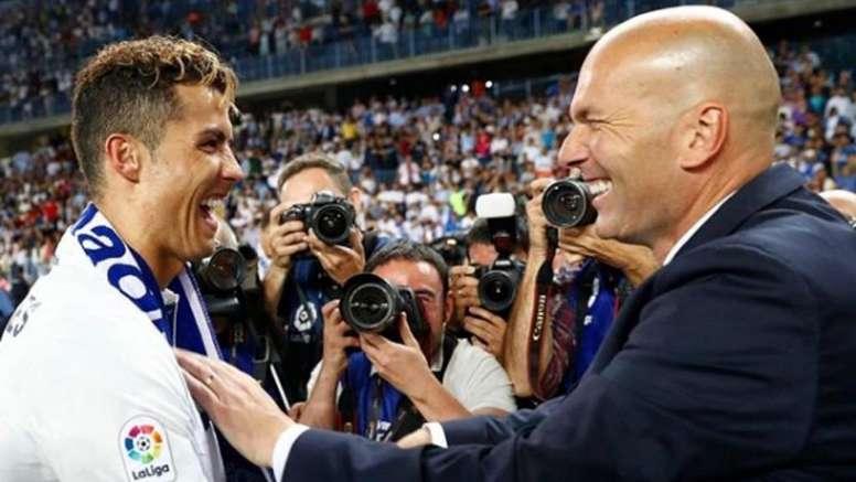 Para Zidane é impossível encontrar alguém que possa substituir Cristiano Ronaldo. Instagram/Cristi