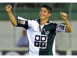 Cristiano Ronaldo during his Sporting days. EFE