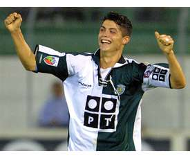 Cristiano Ronaldo during his Sporting days. EFE