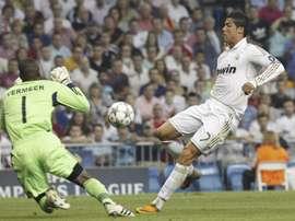 Ronaldo's seven goals against Ajax. EFE