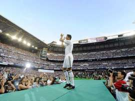 Há 10 anos Cristiano Ronaldo chegava ao Real Madrid. AFP