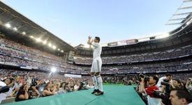 Il y a 11 ans, Ronaldo découvrait le Bernabéu. AFP