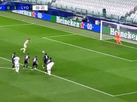 Ronaldo ha segnato il gol del pareggio. BeinSports