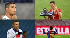 Os 10 jogadores mais bem pagos de 2020. AFP/EFE