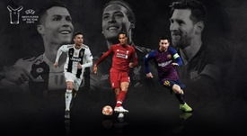Messi, Cristiano and Van Dijk on shortlist for UEFA Men's Player of the Year. UEFA