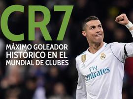 CR7: Máximo artilheiro na história do Mundial de Clubes. BeSoccer