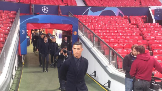Ronaldo makes a heroes return to Old Trafford this week. Twitter/JuventusFC