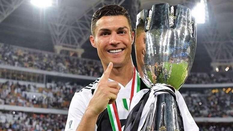 Así presumió Cristiano de su primer título 'bianconero' - BeSoccer