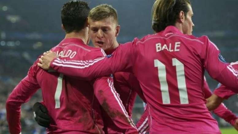 El Madrid vuelve a vestir de rosa. EFE