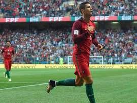Houve 'show' de CR7 no jogo entre Portugal e as Ilhas Faroé. Goal
