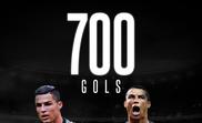 Cristiano Ronaldo alcança os 700 gols como profissional. BeSoccer