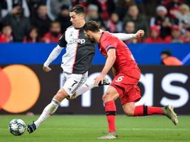 Cristiano Ronaldo volvió a marcar en la Champions League. JuventusFC