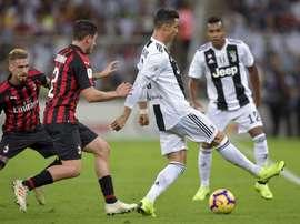 Ronaldo decisivo. AFP