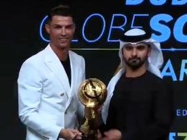 Ronaldo won it. Twitter/Globe_Soccer