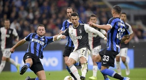 Inter and Juventus players, involved in an alleged scandal. JuventusFC