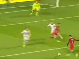 Cristiano Ronaldo marque le but du 2-0. Youtube