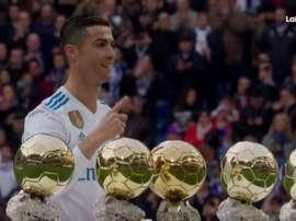 Cristiano Ronaldo aponta a nova Bola de Ouro. LaLigaTV