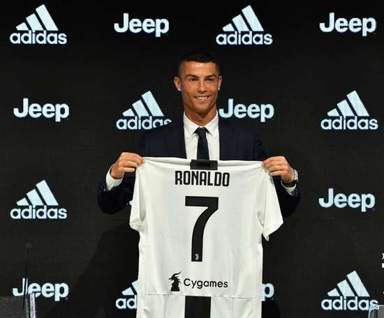Ronaldo was the biggest move of the summer. Twitter/JuventusFC