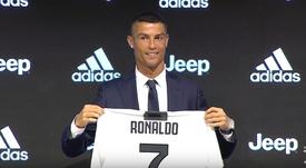 Ronaldo a beaucoup de respect pour son ancien entraineur. Capture/JuventusFC