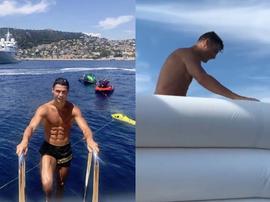 Le dernier message de Cristiano. Instagram/Cristiano