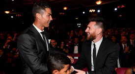 Cristiano and Messi will not see each at the 2019 Ballon d'Or ceremony. EFE