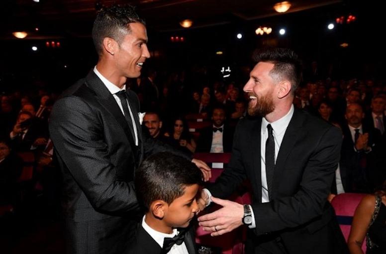 Mateu puso como ejemplos 'mágicos' a Cristiano, Messi, Bonucci y sus hijos. EFE