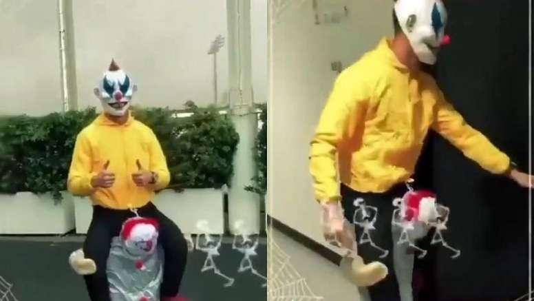 He was a clown. Screenshots/Twitter/Cristiano