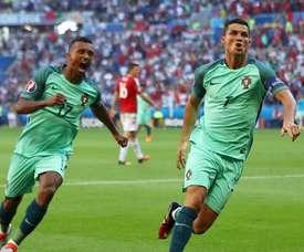 Nani falou sobre a seleção portuguesa e Cristiano Ronaldo. EFE