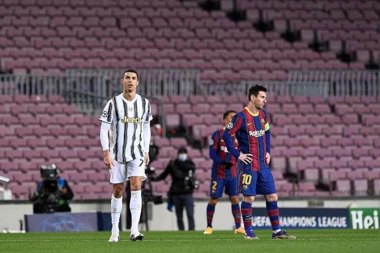 El alemán se olvidó de las dos estrellas mundiales. AFP