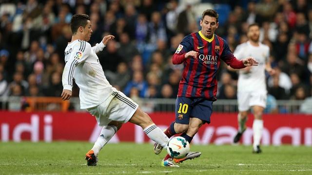 Cristiano Ronaldo and Leo Messi. FCBarcelona