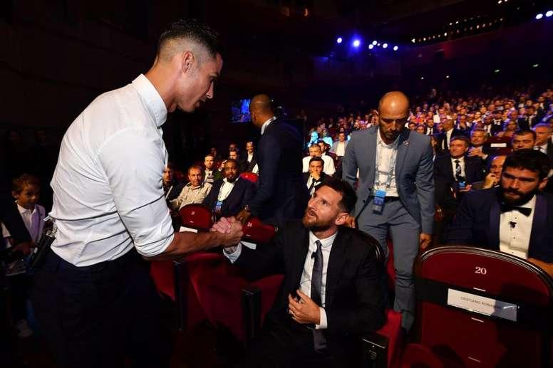 La entrevista con Messi dio mucho de sí. ChampionsLeague