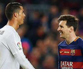 Cristiano Ronaldo and Lionel Messi feature on the list. EFE