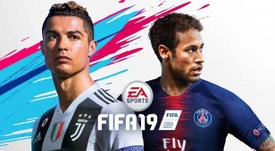 Cristiano Ronaldo and Neymar are on the cover of FIFA this year. Twitter/EASports