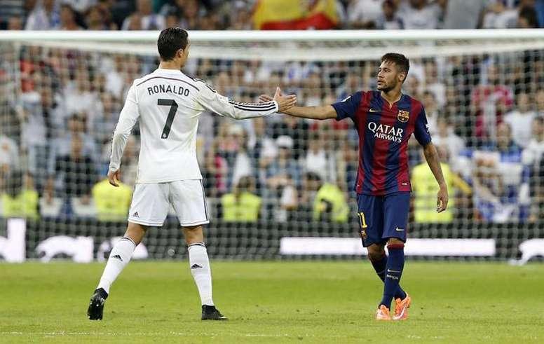 Image result for neymar with ronaldo