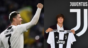 Ronaldo is his idol. AFP/Juventus
