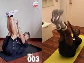 CR7 lance son propre challenge, basé sur des exercices abdominaux. Capturas/Instagram/cristiano