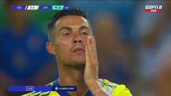 Ronaldo scored 94th minute winner, but VAR takes it away!