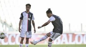 Saiu o gol de falta de CR7 pela Juve. JuventusFCES