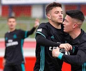El Castilla venció por la mínima al Guijuelo. RealMadrid