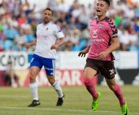 Saenz sueña en conseguir el ascenso con el Tenerife. CDTenerife