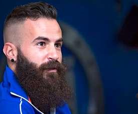 Crosas se ha hecho muy famoso por su frondosa barba. CruzAzul