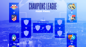 Acompanhe o sorteio da Champions League. AFP